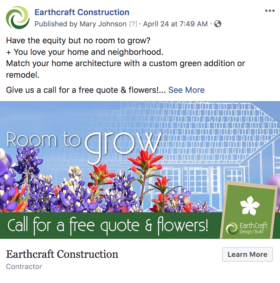 EarthCraft Design/Build FB
