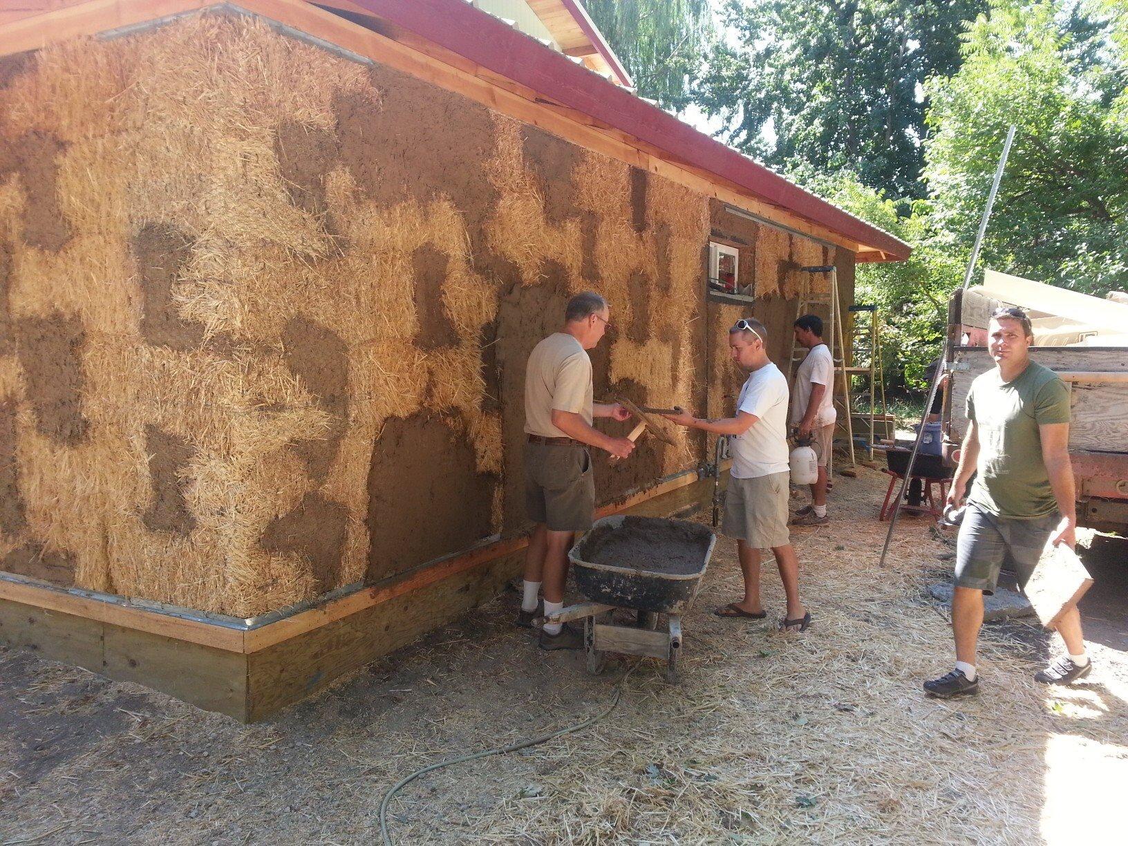 EarthCraft Straw Bale Workshop - 2013