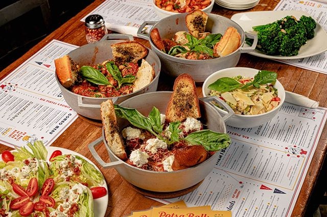 Got a group? Our Potsa Balls menu is perfect for you. Gather your team of 4 or more for our $25pp family style menu.