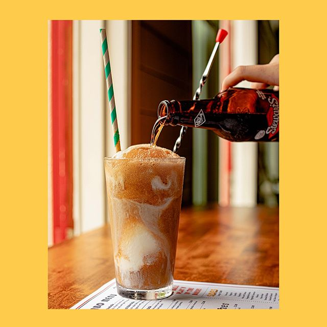 When's the last time you've had a rootbeer float? Feeling #nostagic…