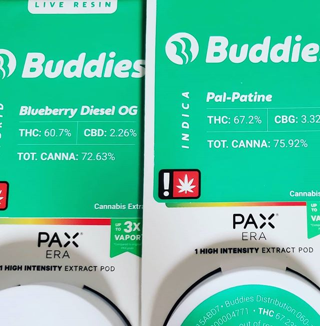 @paxvapor @buddiesbrand fresh drops @greenmtfire_ We finally did it y'all!  Now carrying Pax Era and Pods!