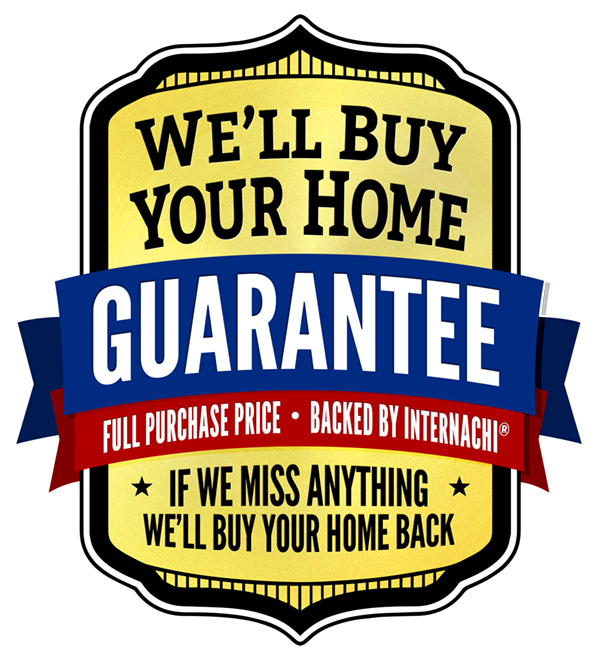 Internachi Buy Back Your Home Guarantee. Click Here For Terms -