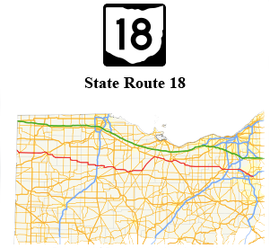 Over 447 lane miles of U.S. and State Routes within the county -