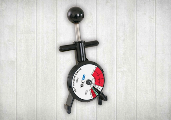 belt tension gauge