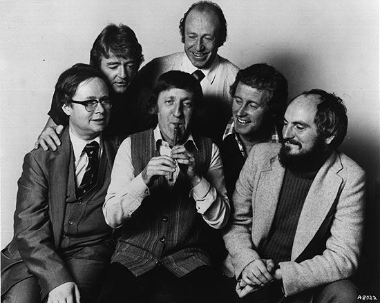 The Chieftains about the time Gordon first saw them.