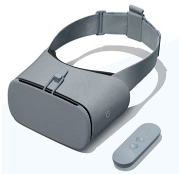 Google Daydream (Image provided by:  https://vr.google.com/daydream/ )
