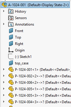 Feature Tree Renaming