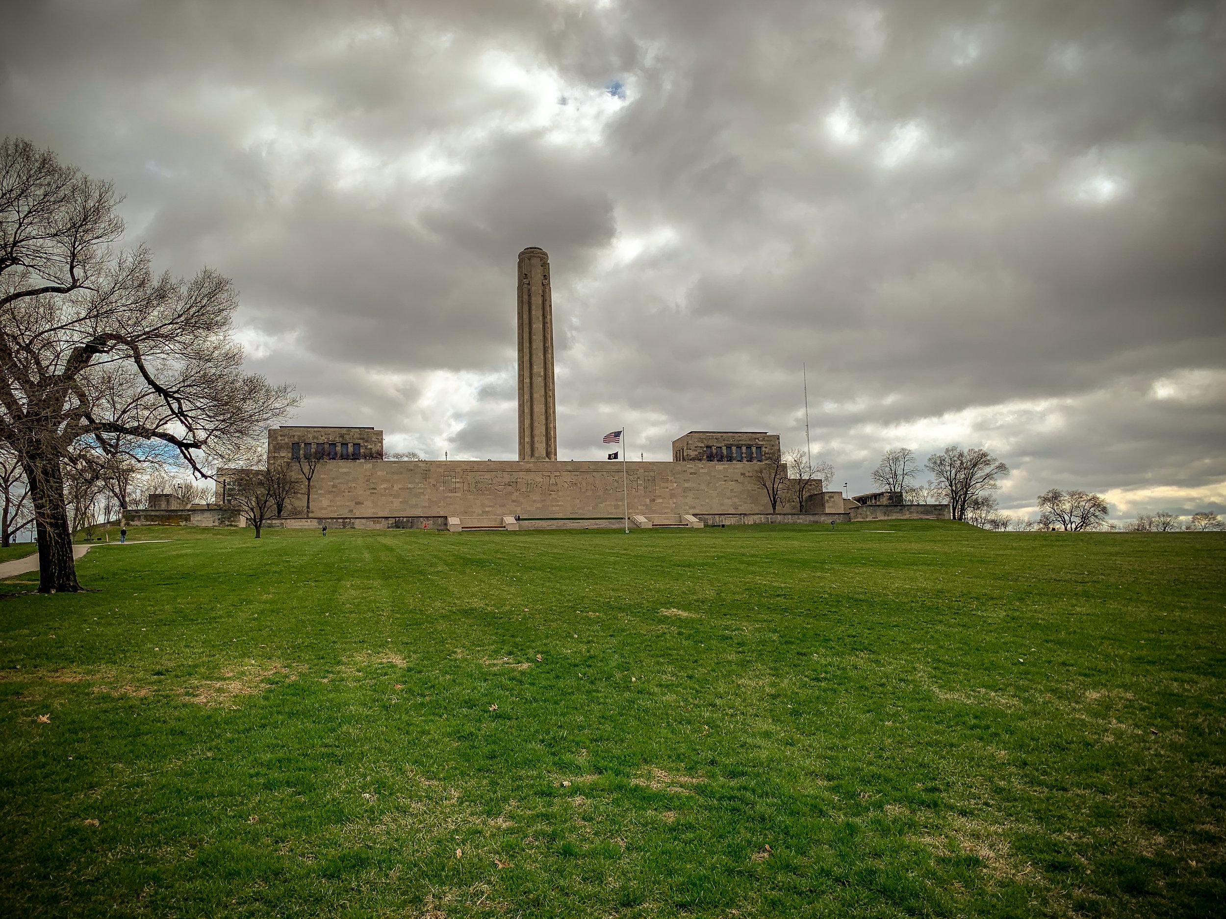 The National WW1 Museum and Memorial , Kansas City, MO.