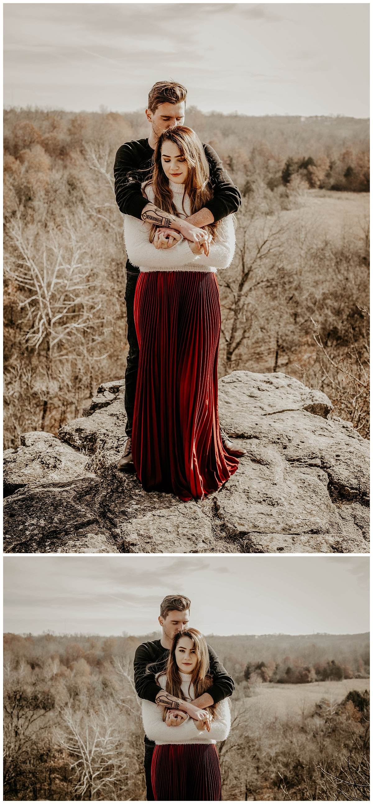 Couples Adventure Session | Mountain Couples Photos | Kansas City Engagement Photography Kansas City Wedding Photography