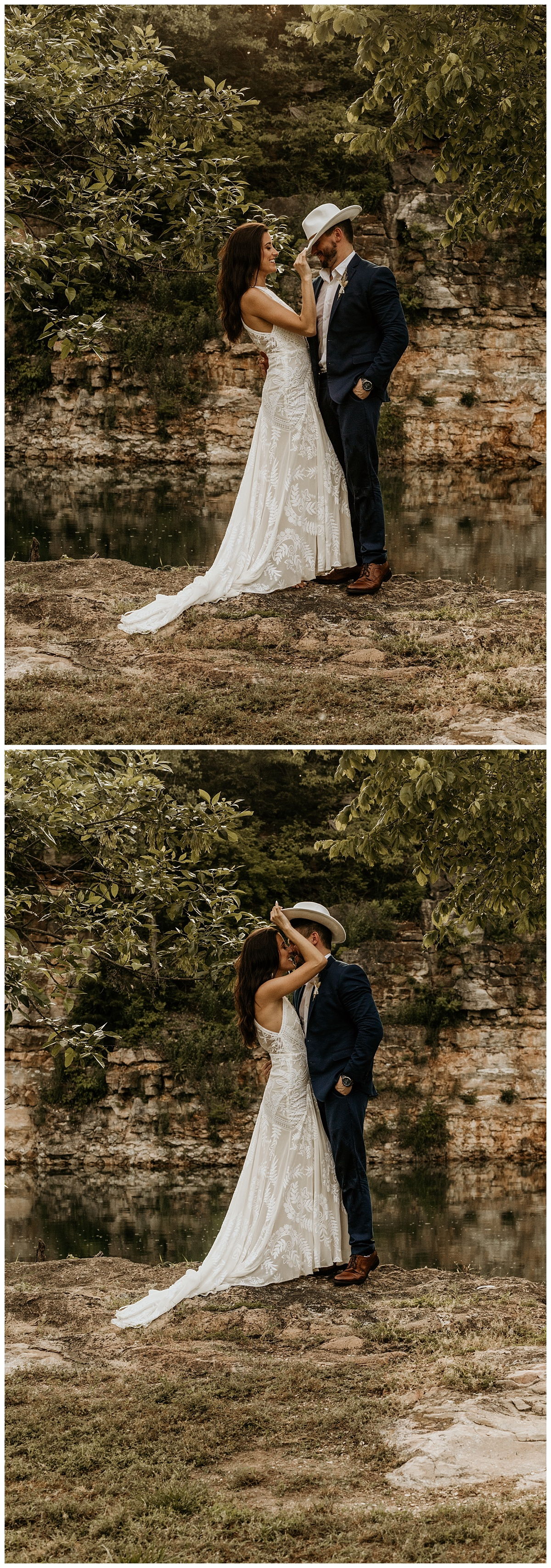 Boho Elopement | Kansas City Wedding Photography | Colorado Elopement | Outdoor Wedding | Outdoor Elopement Photos | Lake Wedding