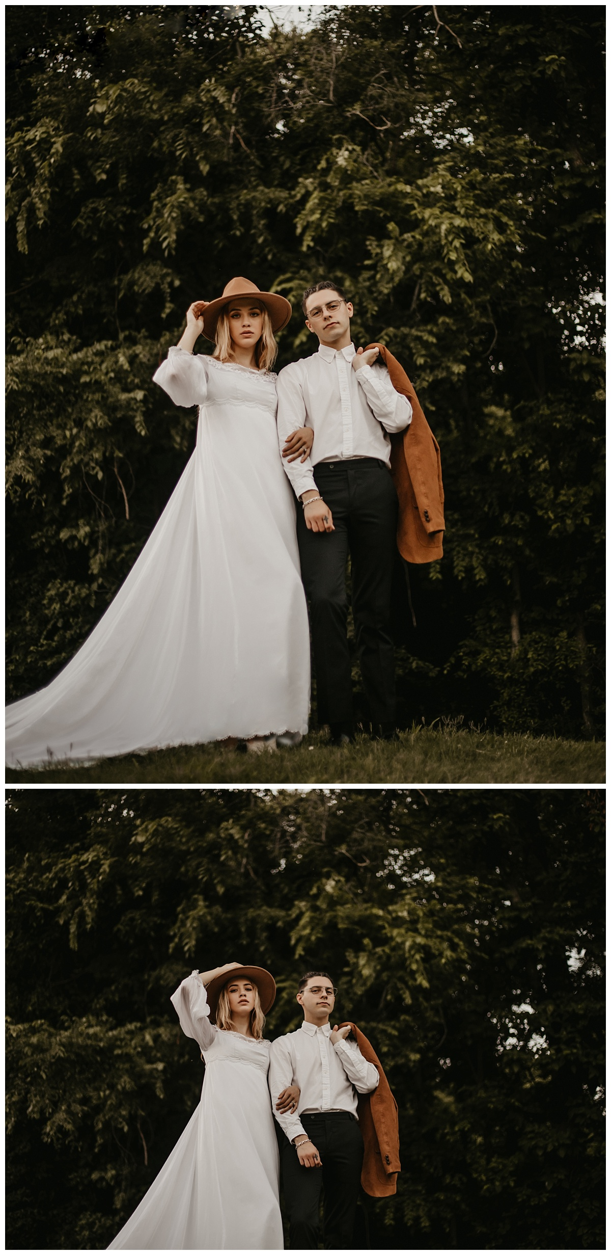 Kansas City Elopement | Vintage Wedding | Moody Wedding | Colorado Elopement | Kansas City Wedding