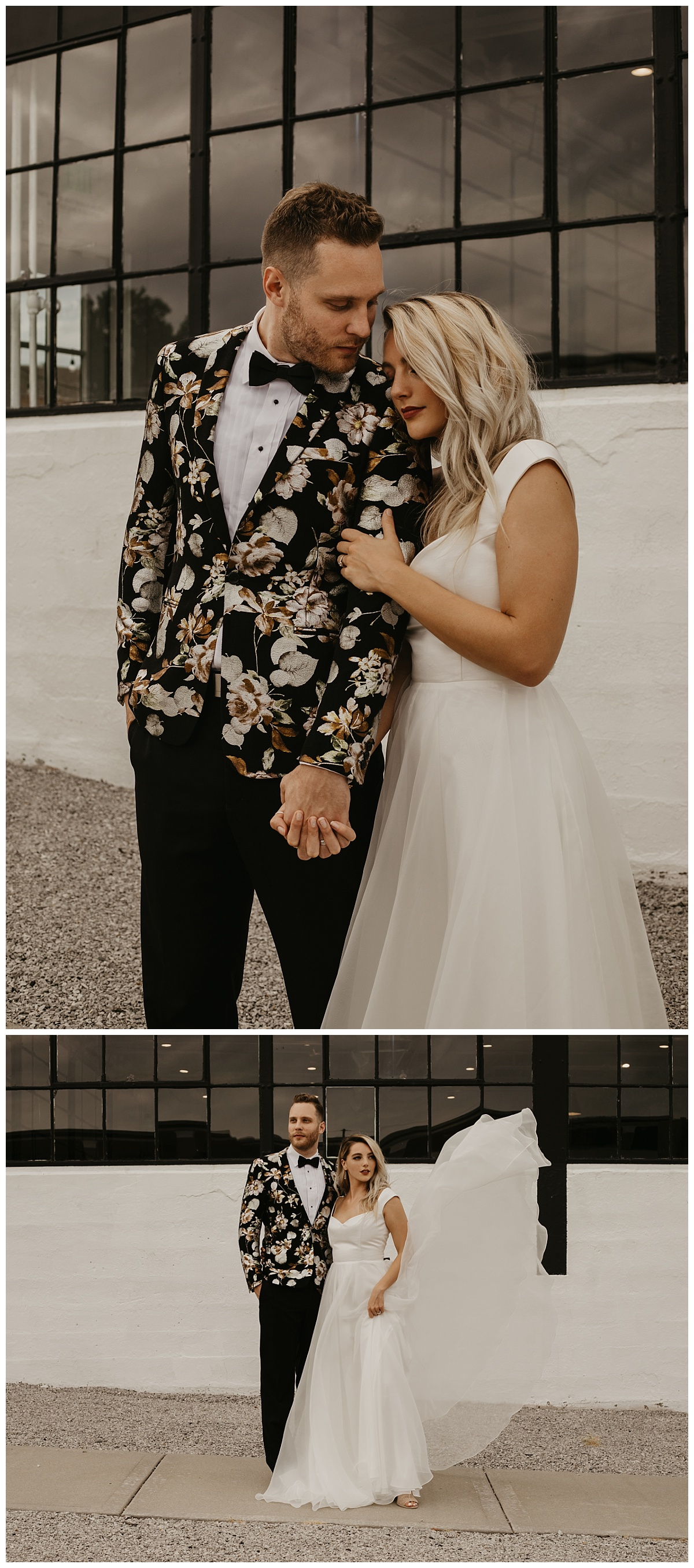 Urban Wedding | Kansas City Wedding Photographer | City Wedding | Minimalist Wedding
