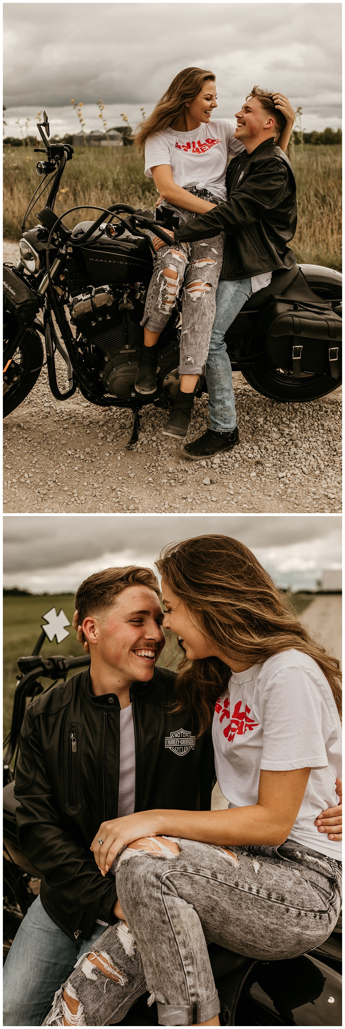 motorcycle session | adventure session | engagement session | motorcycle photos | lana del rey | ride or die | adventurous couple | kansas city photographer | kansas city photography
