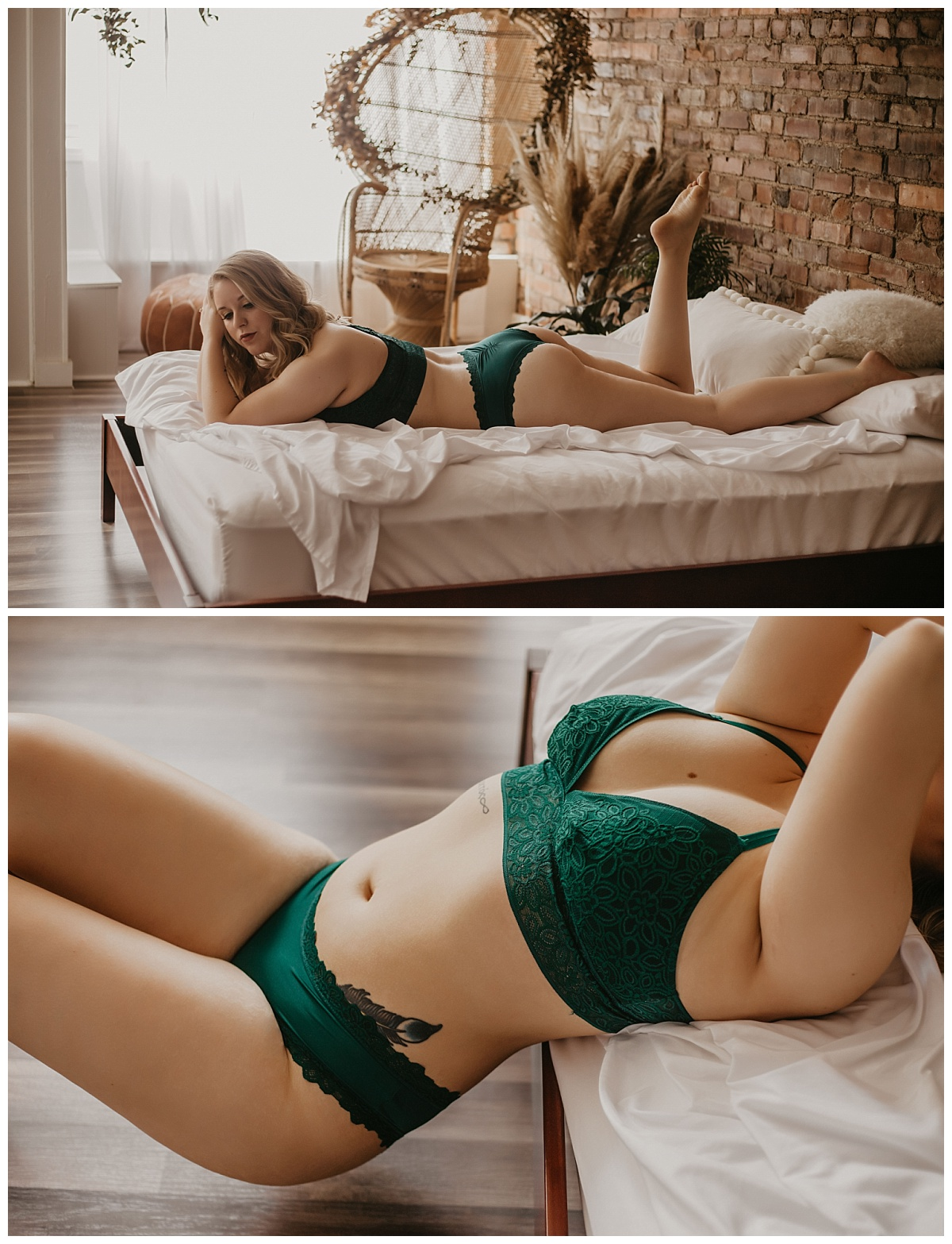 Kansas City Boudoir Photography | Kansas City Portrait Photography | San Diego Boudoir Photographer | Natural Light Boudoir