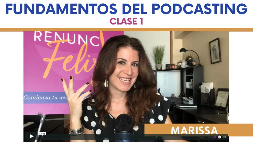 Hablemos por qué hacer un podcast de y nuestro sistema de aprendizaje e implementación simultánea.