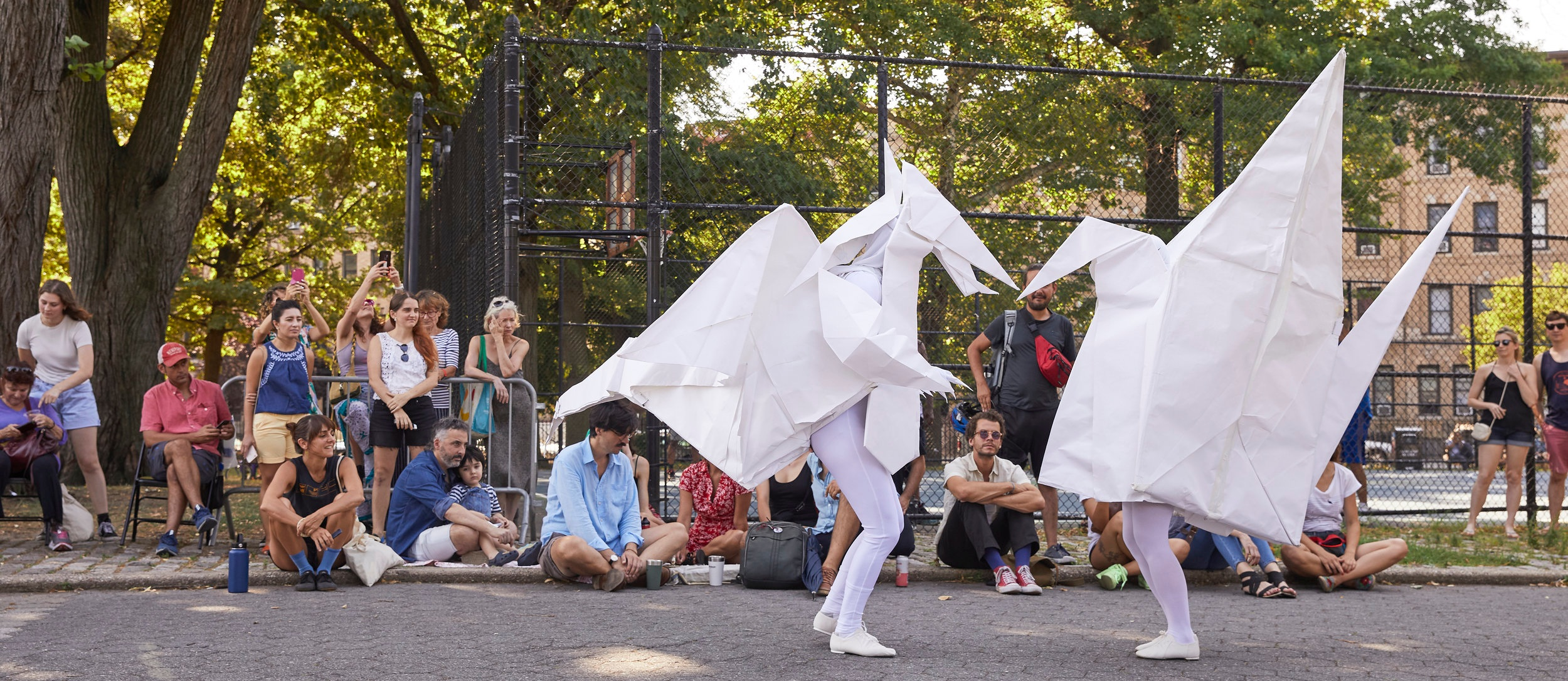 Origami Tango  de Sylvia Palacios Whitman (2019) • foto: Alison Luntz