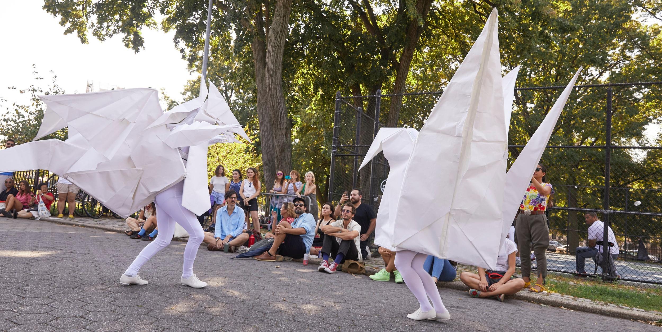 Origami Tango  by Sylvia Palacios Whitman (2019) • photo: Alison Luntz
