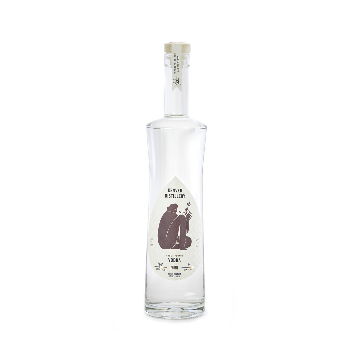 SWEET POTATO VODKA - – a full bodied yet incredibly smooth vodka– distilled 3 times, each batch starts with over 400 lbs. of sweet potatoes