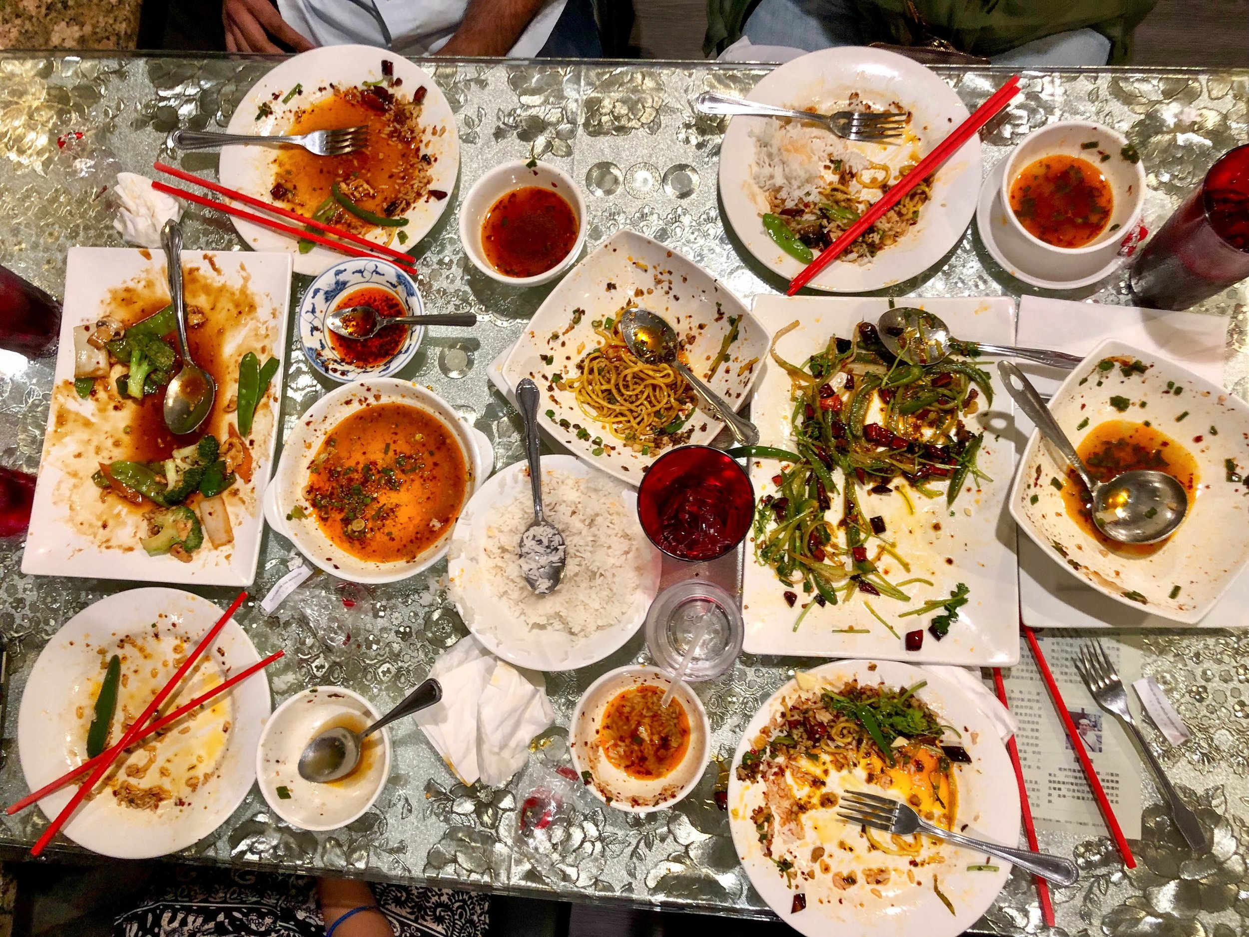 Photo credit: Jusleen Sodiwal and all her friends for finishing the food!