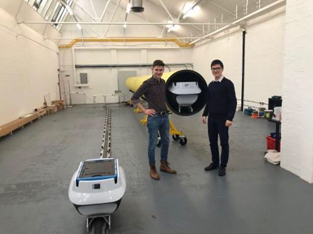 Our team was proud to visit UK's Hyperloop company - Magway in Wembley Business Park. It is great to see the development of small-scale hyperloop technology! 🚄🚀
