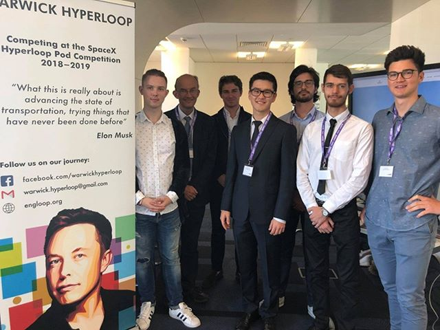 """We had a pleasure to be invited to the first conference on """"Hyperloop in UK"""", organised by Transport Systems Catapult. A lot of interest coming from industry and Government-funded Innovate UK on the technology. Most importantly, we were proud to meet Hyperloop Transportation Technologies."""