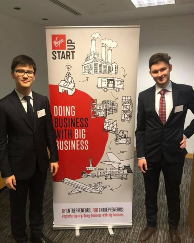 """Our team was proud to attend Virgin Start Up """"Doing Business with Big Business"""" 1-day event by meeting huge players like Virgin Trains, Virgin Atlantic, Amazon Launchpad, Sainsbury's and John Lewis & Partners. It was great to see their interest in Hyperloop development and our team."""