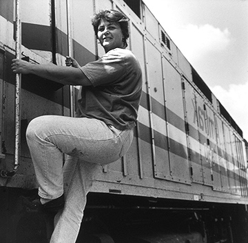 Becky Tressler Locomotive Passenger Engineer