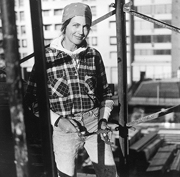 Barbara Moore Bricklayer