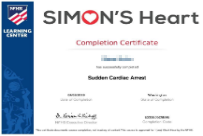 Simon's Heart (NFHS)  Duration: ~20 mins Certification: Every 3 years