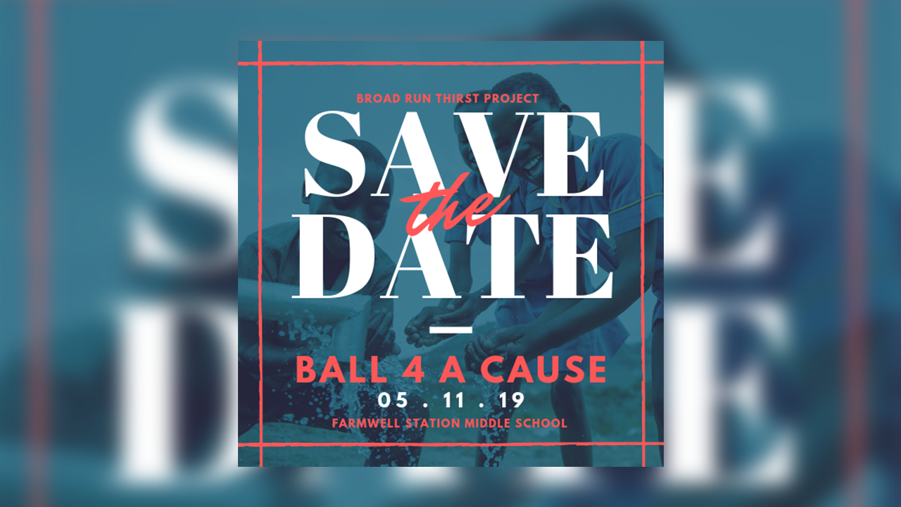 Ball 4 a Cause - Ball for a Cause is a 3v3 charity basketball tournament that will take place on May 11th at Farmwell Station Middle School's main/auxiliary gyms from 10am to 6pm. There is a $300 prize pool, so it's game time.