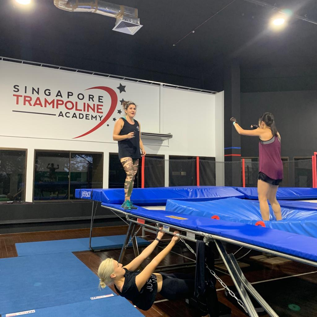 Trampoline Fitness - Learn More →