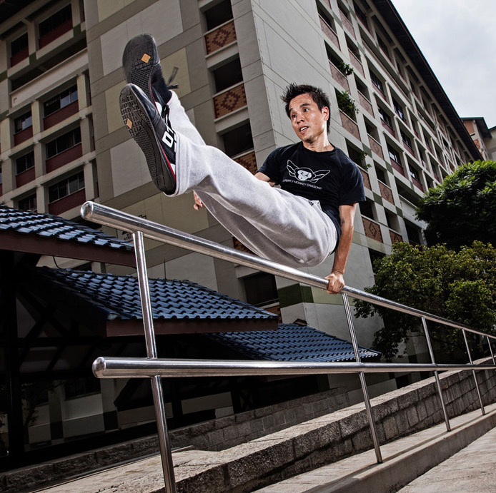 Parkour Fitness - Learn More →