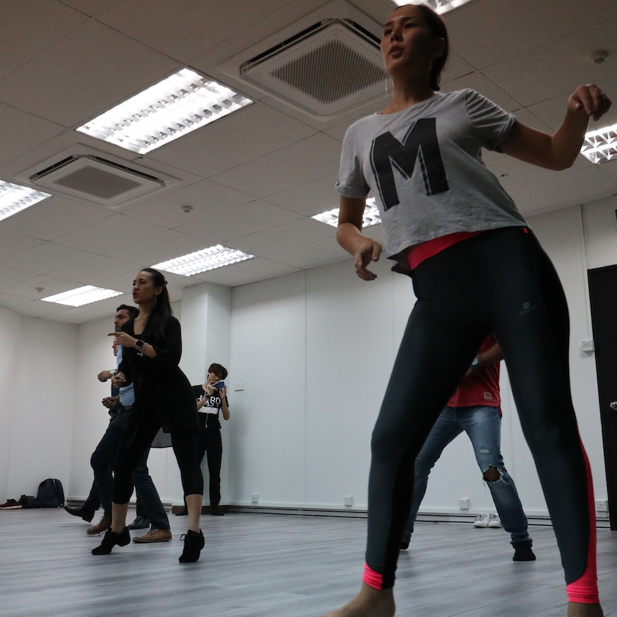 Latin Dance Class - Learn More →
