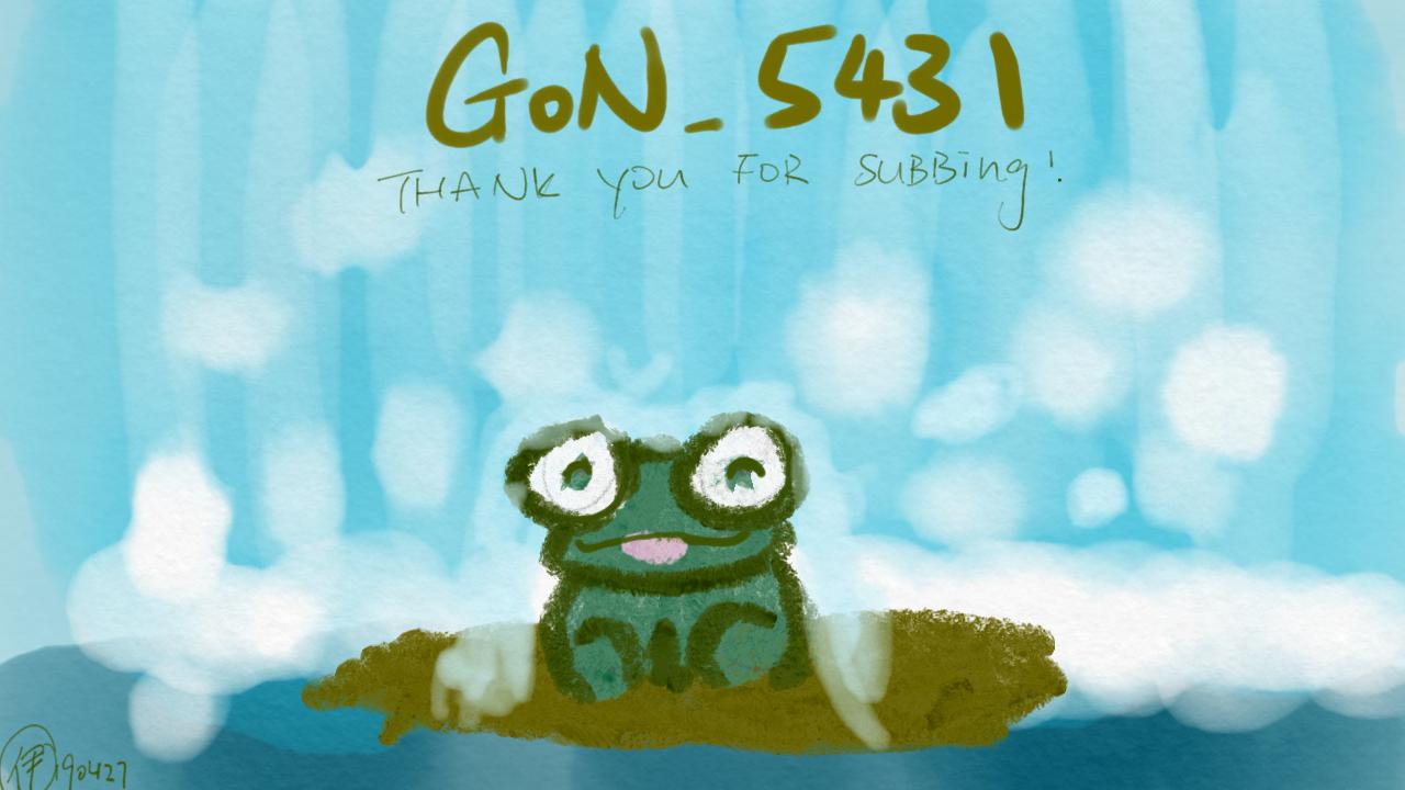 青蛙 ; 小瀑布下; 嘆緊淋瀑布