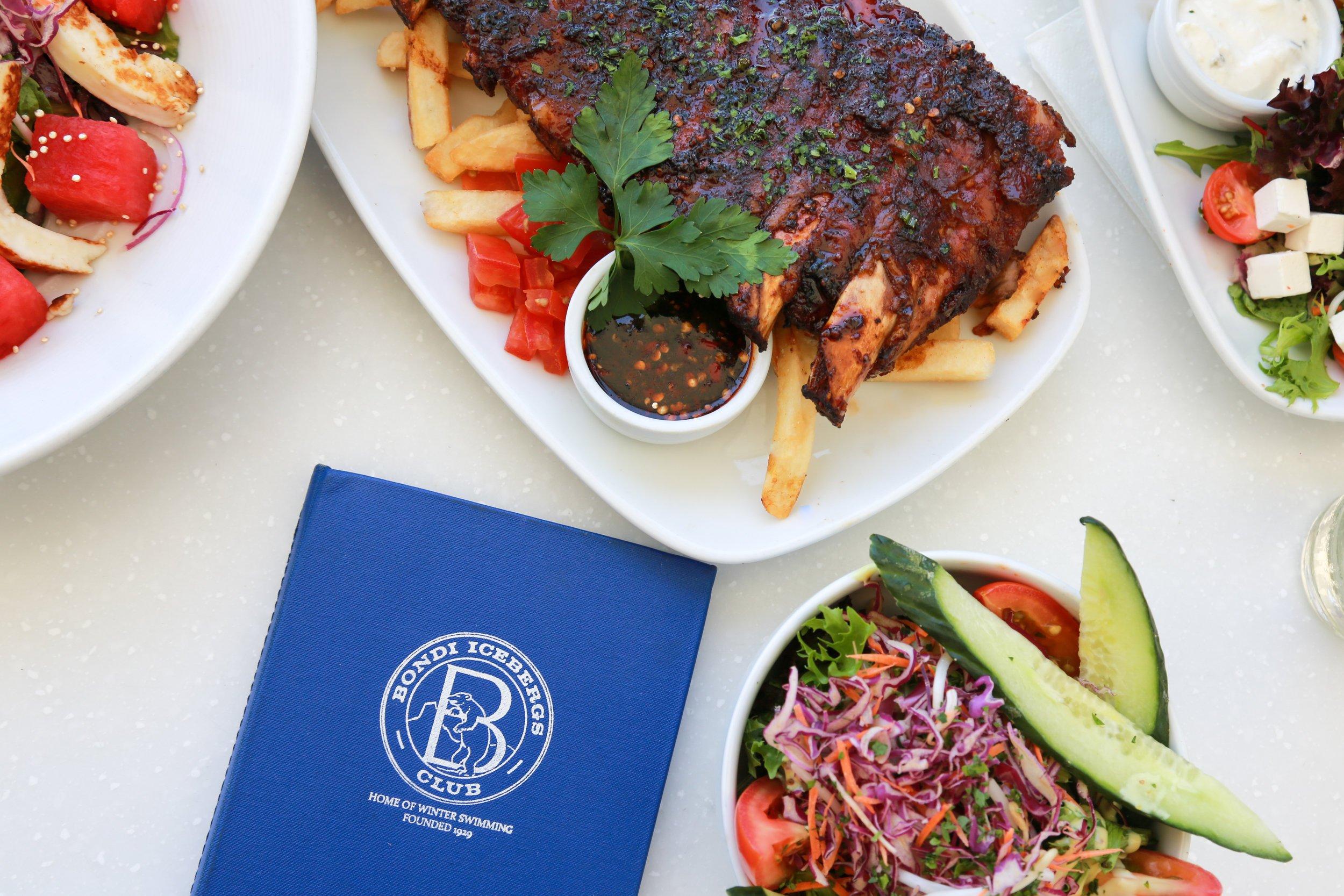 Bondi Icebergs Club Food