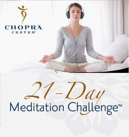 21 DAYS MEDITATION WITH CHOPRA