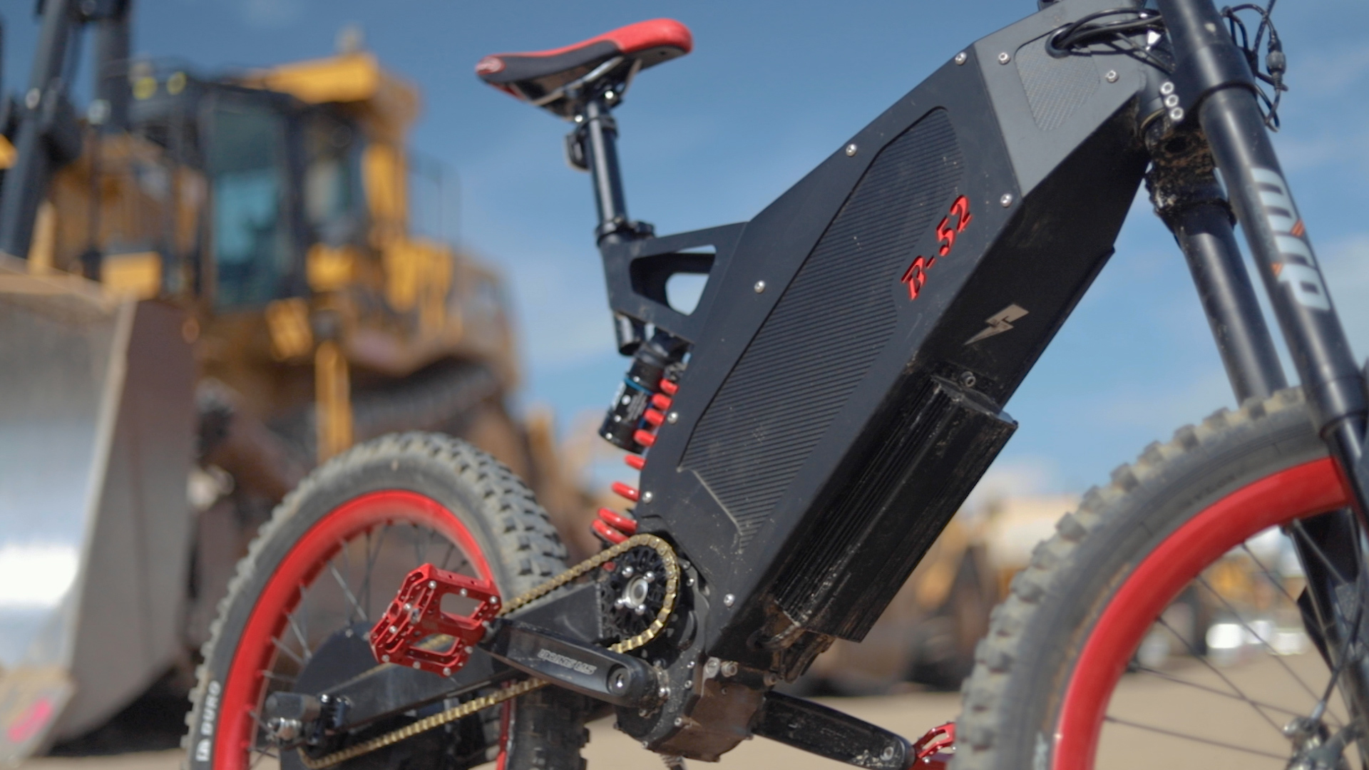 Stealth B-52 Bomber electric bike review: 6,200 watts of