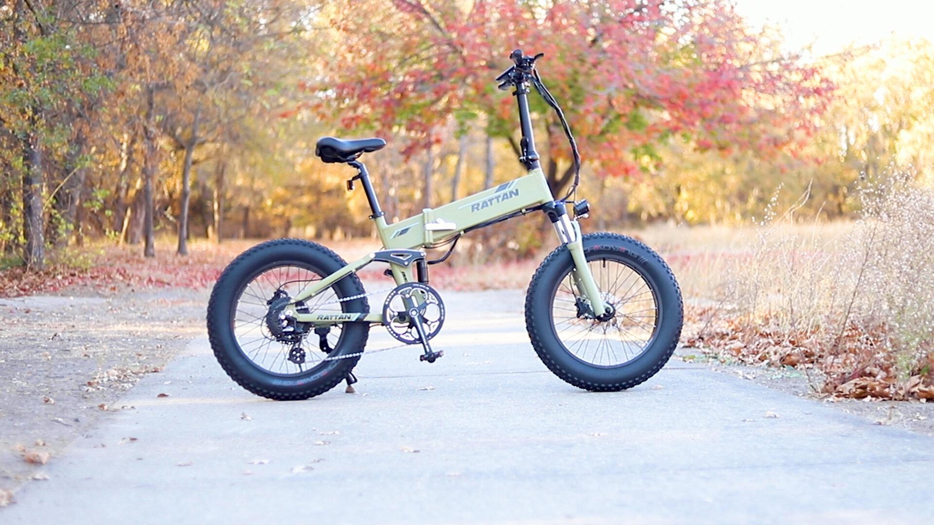 Rattan Fat Bear Plus Electric Bike Review Full Suspension