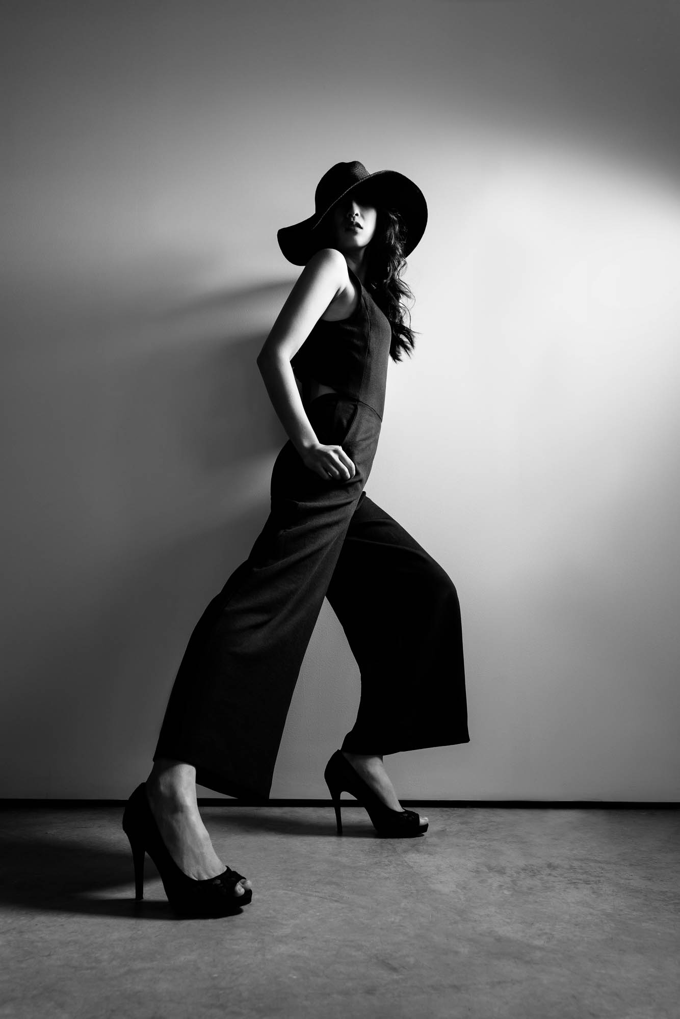 Lex & Josh Fashion B&W Shadows Portrait Shoot-2.jpg