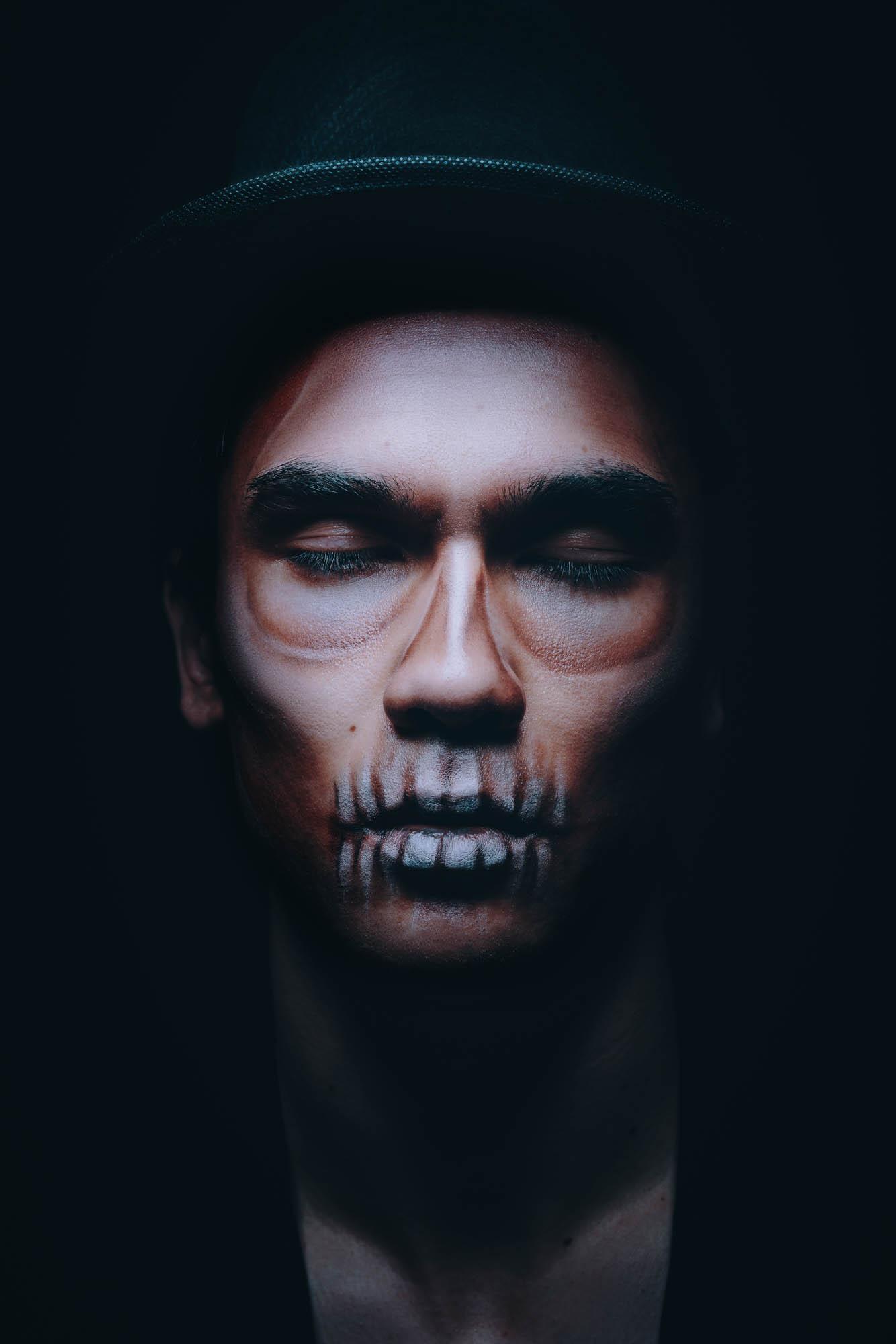 Lex & Josh Halloween Face Paint Portrait Shoot-18.jpg
