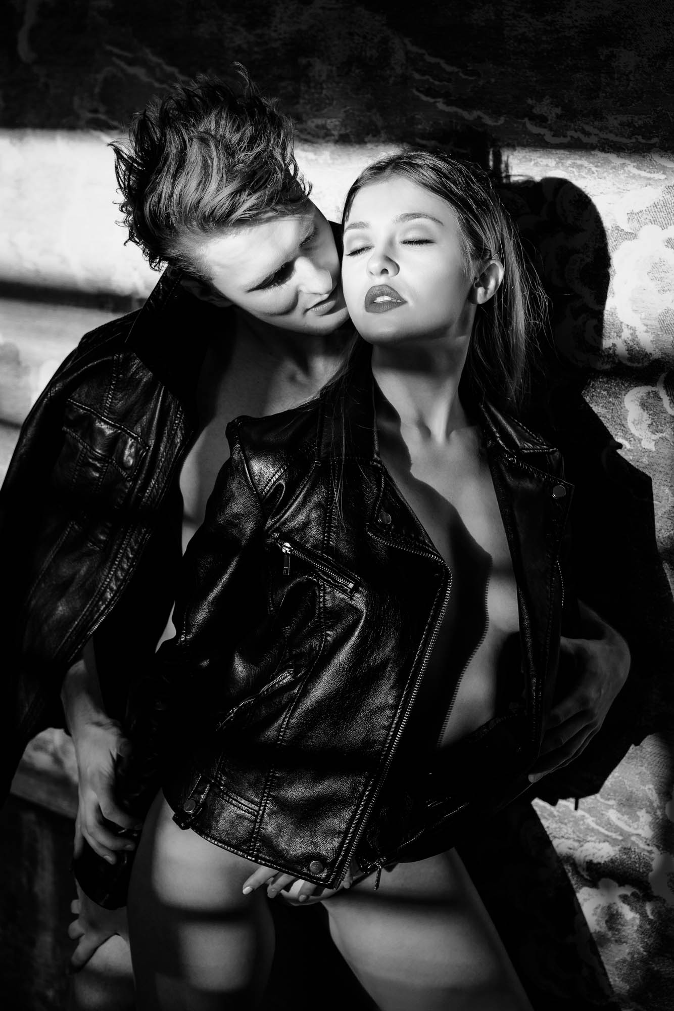 Lex & Josh Calvin Klein B&W Nude Intimate Shoot with Magnus & Olya-15.jpg