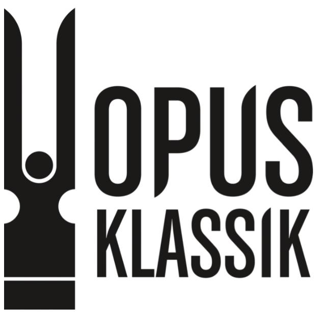 Opus Klassik . Music Prize