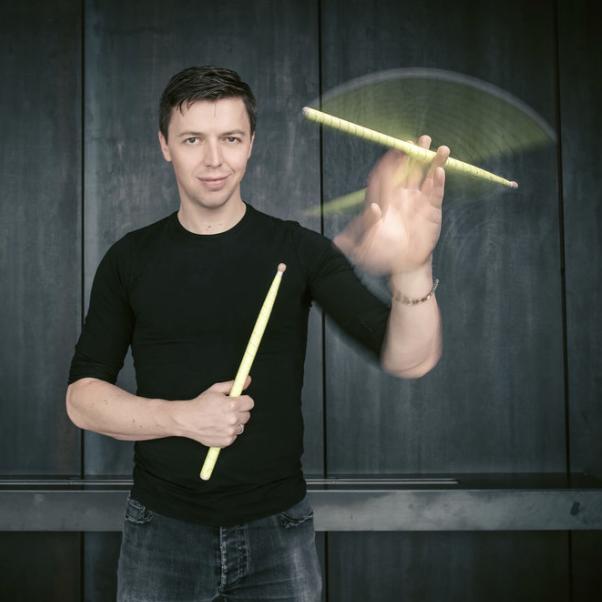 Martin Grubinger . Percussionist