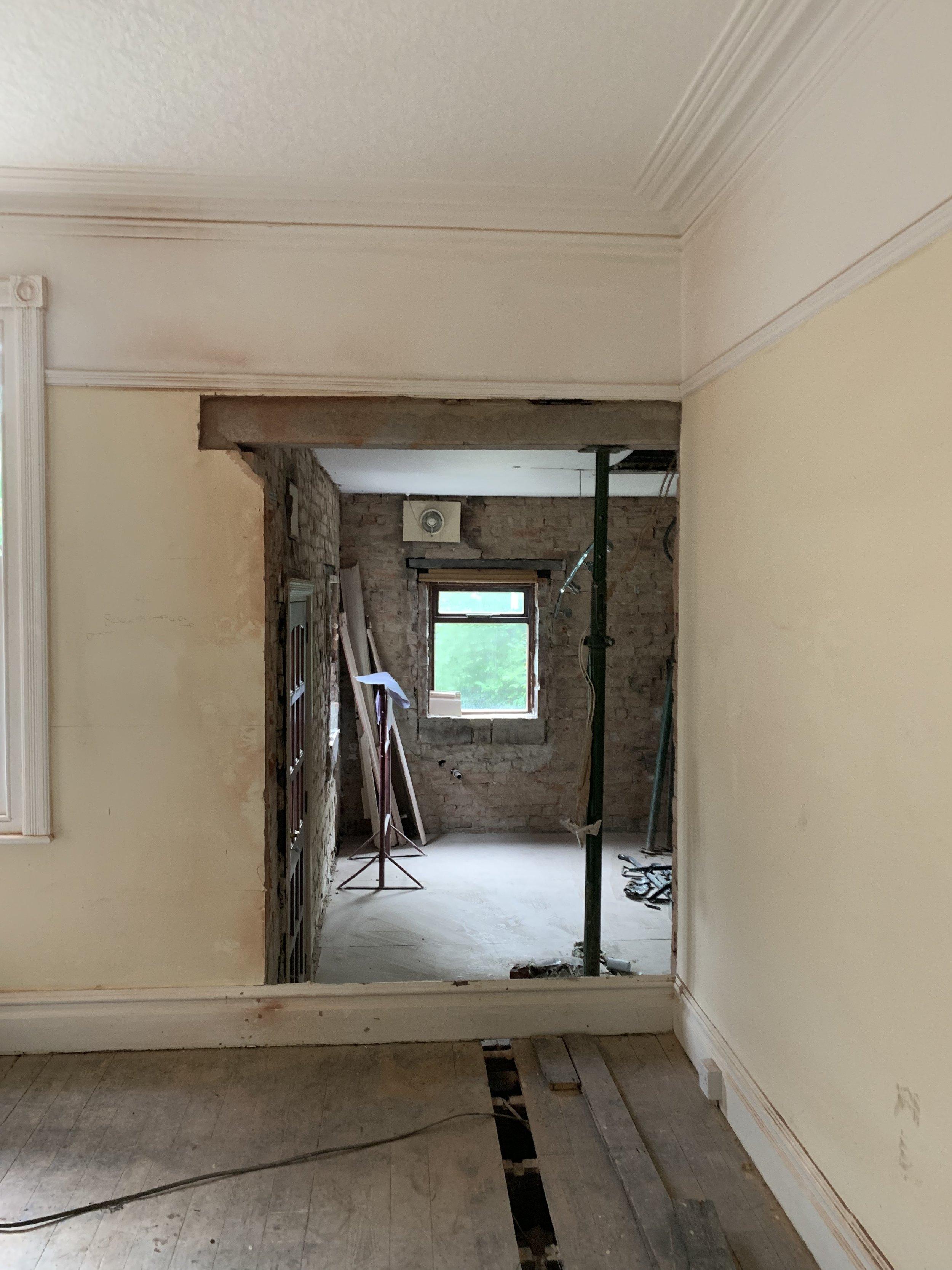 Leeds house alteration