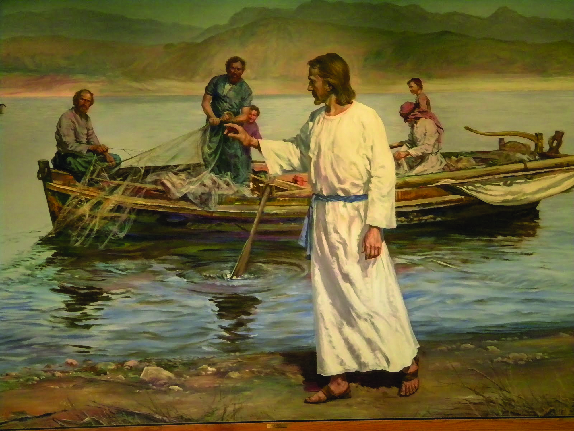 "Jesus continued to advocate the use of fluorocarbon mainline... ""Take it from me, it's the difference between 2 fish and thousands fellas, but don't leave any of it around, I can't afford for the secret to ever get out"""