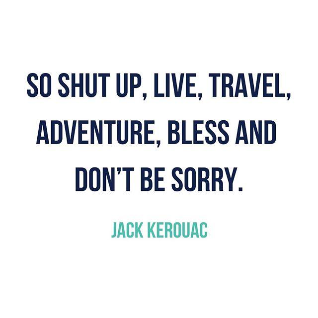 Brooding and the voice of the Beat generation. Jack Kerouac captures the free-spiritedness we all aspire to. . . . #jackkerouac #desolationangels #beatgeneration #quoteofday #literature #travelislife #americana #adventurers #wednesdayvibes