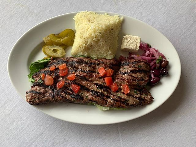 It's the start of a new week & we are drooling over this Lamb Kafta Entree! Come on in tonight & order this delicious meal & don't forget to save room for dessert!  #mediterraneanfood #eathereindy #canalbistro #eatlocalindy #broadripplevillage #indyeats #indyfood
