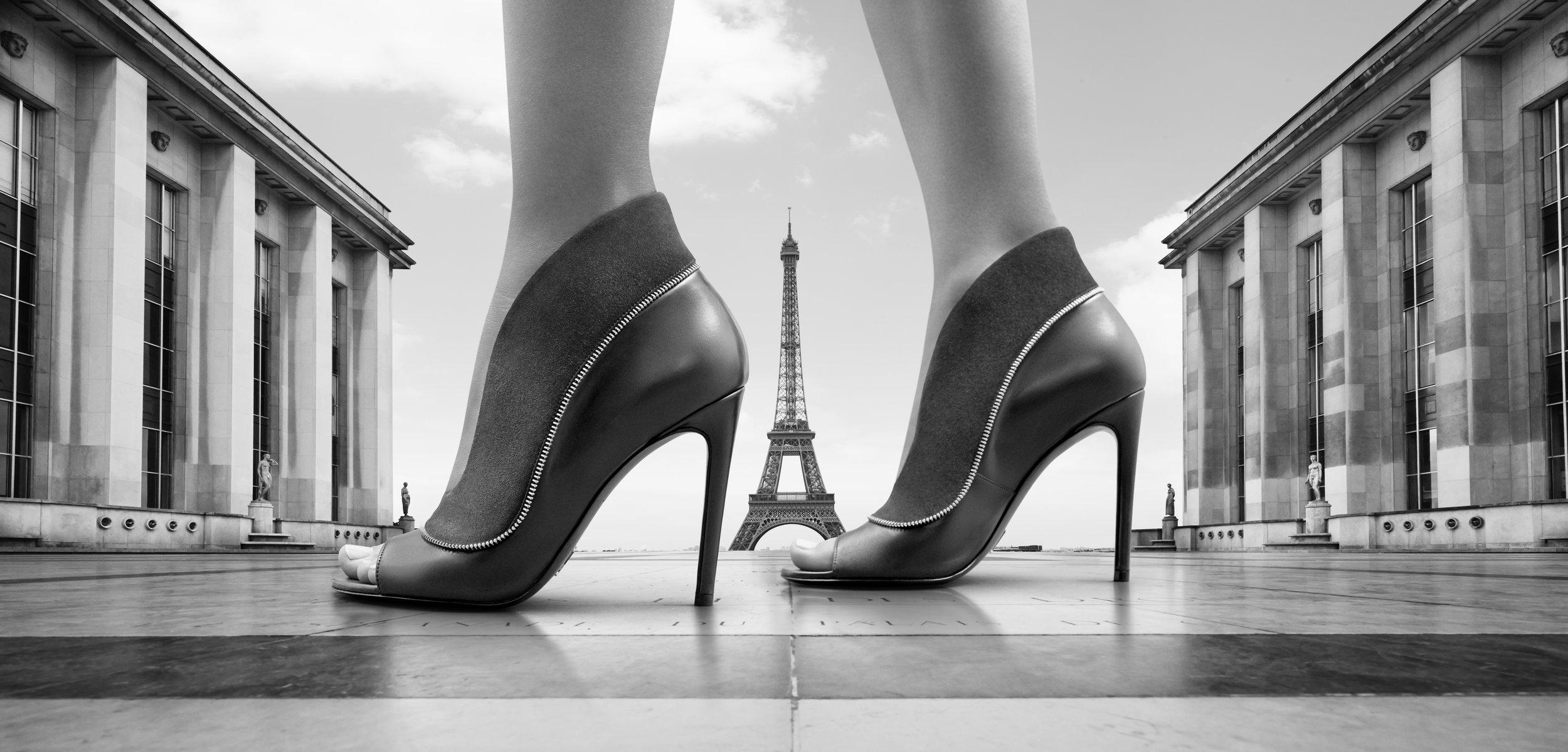 Trocadero, Paris. For Louis Vuitton.