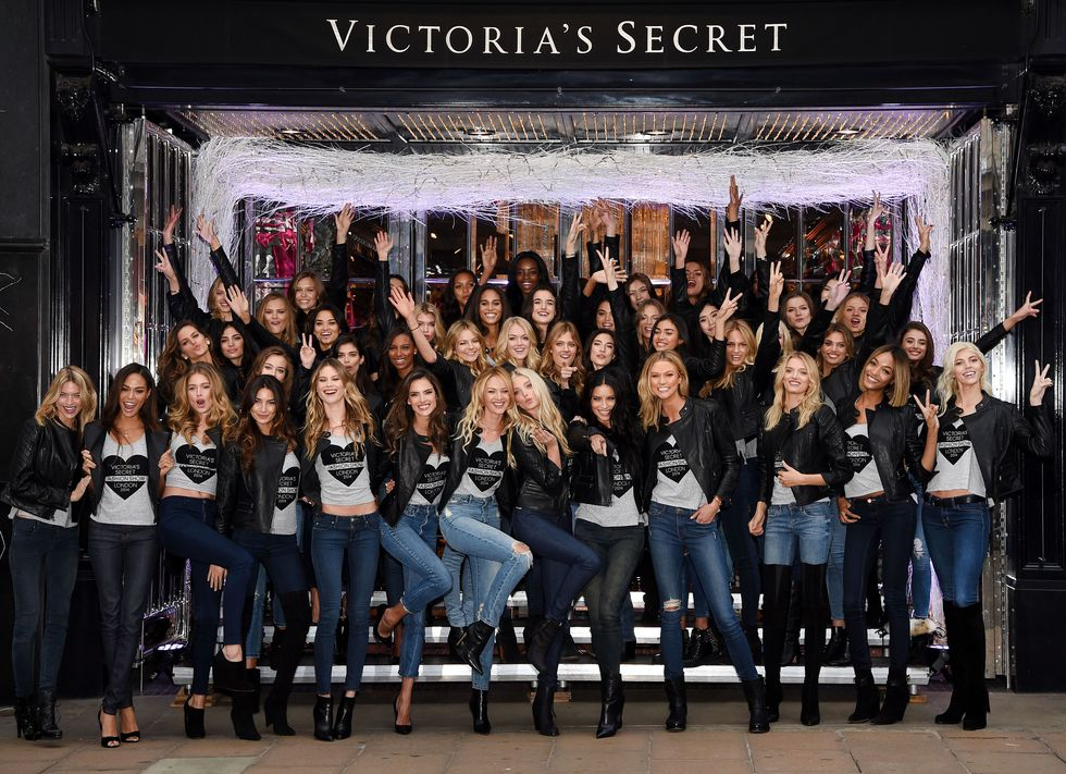 Victoria Secret Ambassador's 2014 London