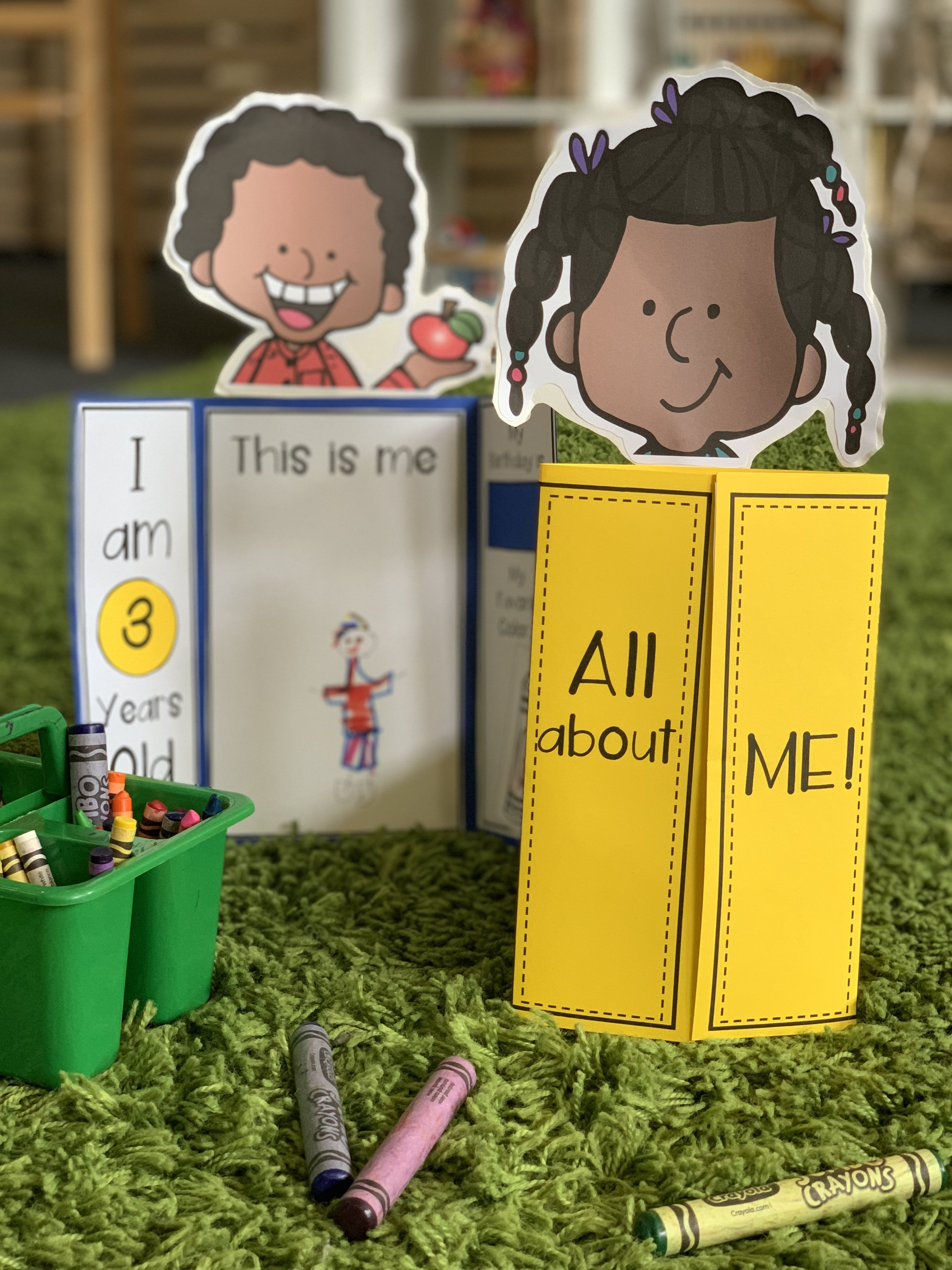 All About Me Lap Book For Preschool